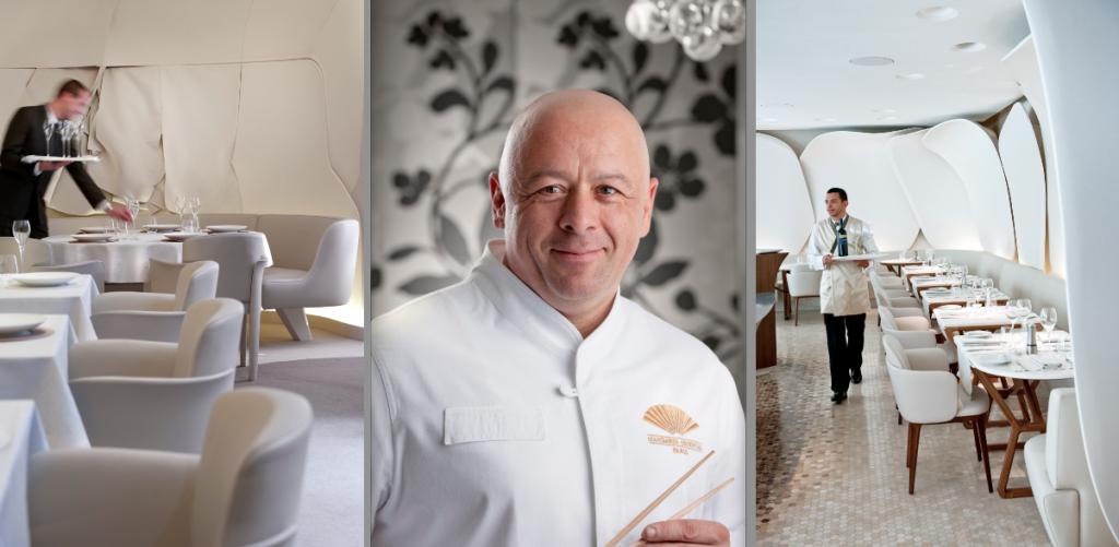Thierry marx chef esprit gourmand - Restaurant thierry marx cuisine moleculaire ...