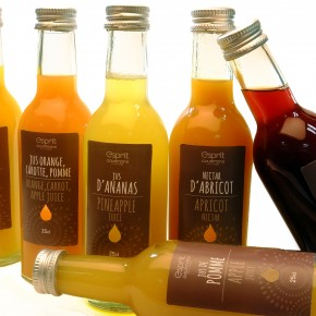 NOUVEAUTÉS 2015: les purs jus de fruit Esprit Gourmand, des fruits et rien que des fruits !   New for 2015 : Esprit Gourmand pure fruit juices, fruits and only fruits !