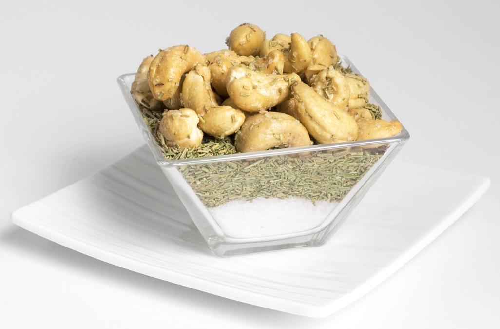 Noix de cajou romarin & fleur de sel de Camargue